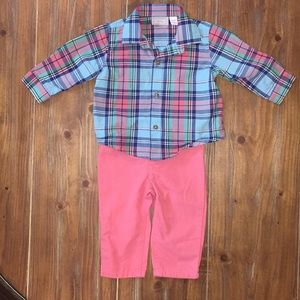 The Children's Place shirt and pants